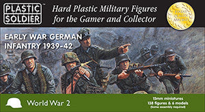 15MM EARLY WAR GERMAN INFANTRY 1939-1942