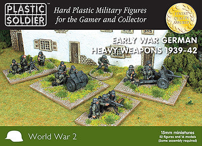 15MM EARLY WAR GERMAN HEAVY WEAPONS 1939-1942