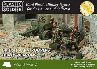 15MM BRITISH PARATROOPERS HEAVY WEAPONS
