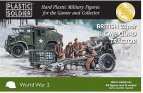 15MM BRITISH 25 PDR AND CMP QUAD TRACTOR