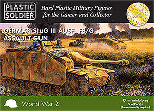 15MM EASY ASSEMBLY GERMAN STUGG III F8/G ASSAULT GUN