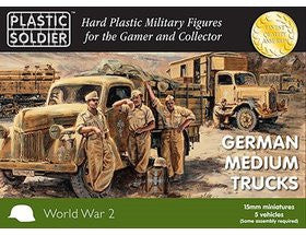 15MM GERMAN MEDIUM TRUCKS
