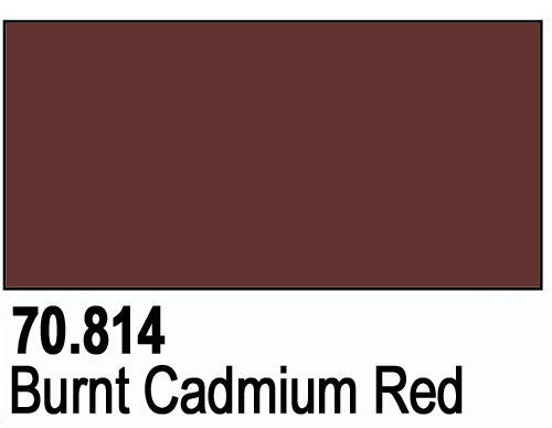 BURNT CADIUM RED