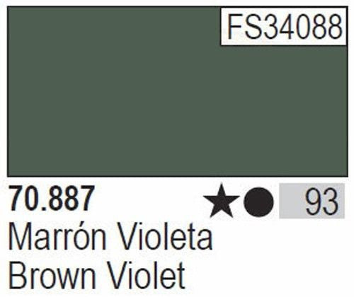 BROWN VIOLET (RLM 81, FS 34087)