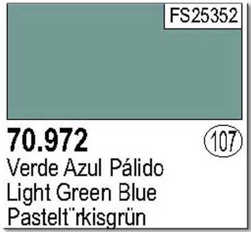 LIGHT GREEN BLUE