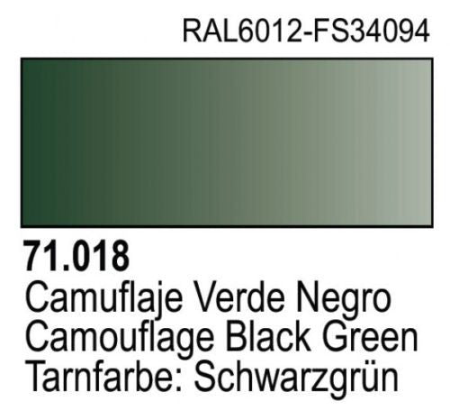 CAMOUFLAGE BLACK GREEN