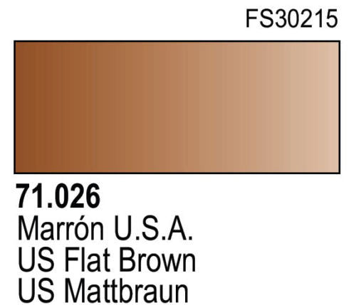 US FLAT BROWN