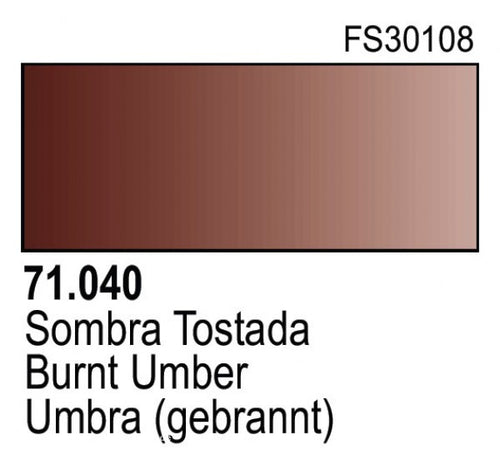 BURNT UMBER