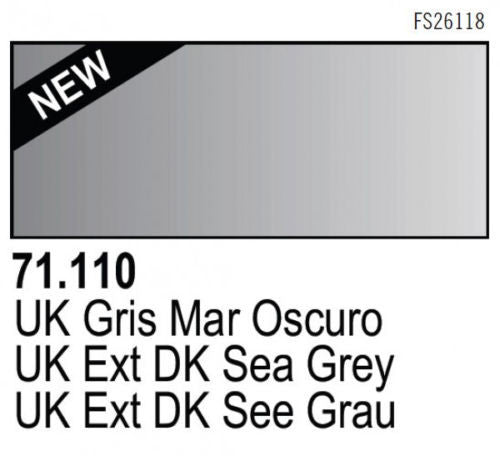 UK EXT DK SEA GRAY