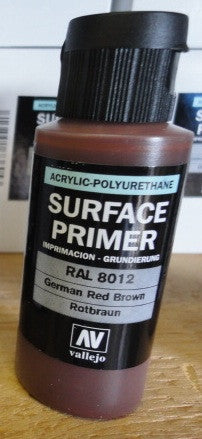 SURFACE PRIMER - ACRYLIC- GERMAN RED BROWN