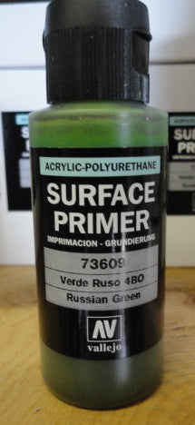 SURFACE PRIMER - ACRYLIC- RUSSIAN GREEN
