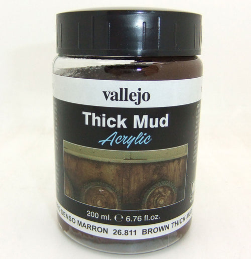 BROWN THICK MUD 200 ML