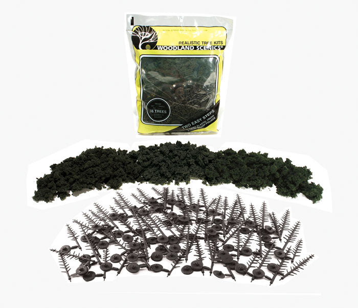 "KIT-GREEN CONIFER (6""-8"") (16/PK)"