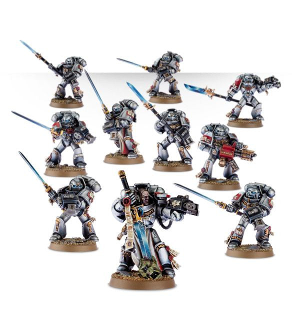 Grey Knights Strike Squad (10 figurines)