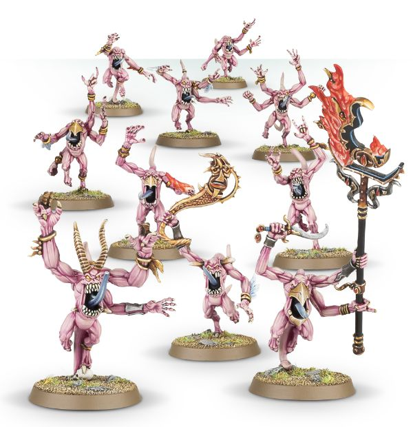 Pink Horrors of Tzeentech