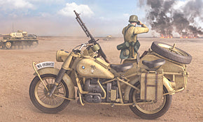 German Motorcycle R75 with Sidecar (DAK)