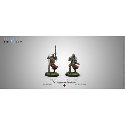 Ariadna: 3rd Highlander Grey Rifles (HMG)