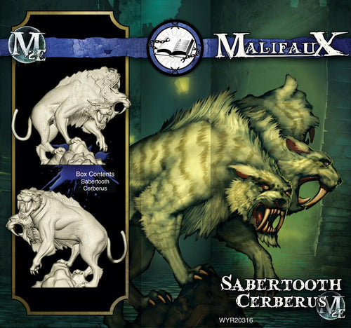 Arcanists: SABERTOOTH CERBERUS