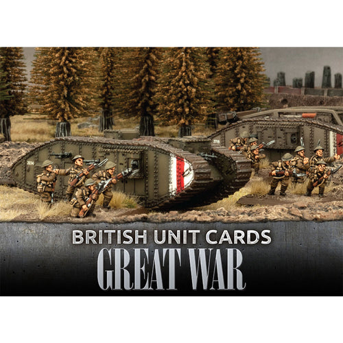 Great War – British Unit Cards
