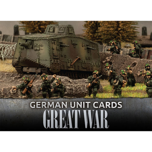 Great War – German Unit Cards