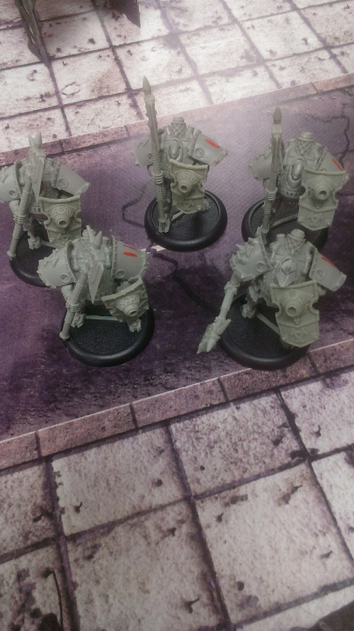Khador: Man O War Shocktroopers