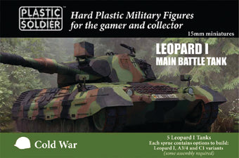PSC 15mm Modern Cold War Leopard 1 Tank