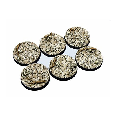 Bases: Wasteland, Round 40mm (2)