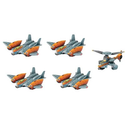 Protector G.U.A.R.D. Unit - Strike Fighters & Rocket Chopper (Resin)