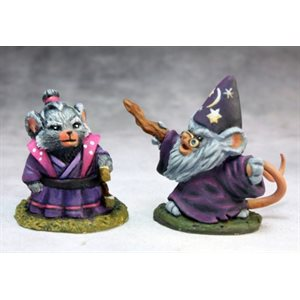 Mousling Sorcerer and Samurai