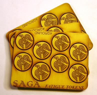 SAGA Fatigue Tokens - Ravens