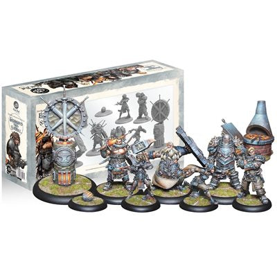 Guild Ball: Blacksmith's Guild - Team Pack (6) - Forged From Steel