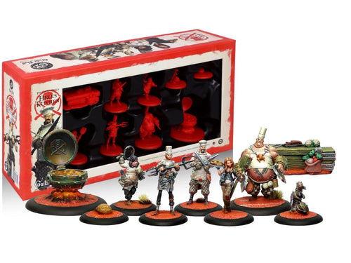 Guild Ball: Cook's Guild - Team Pack (6) - Hell's Kitchen