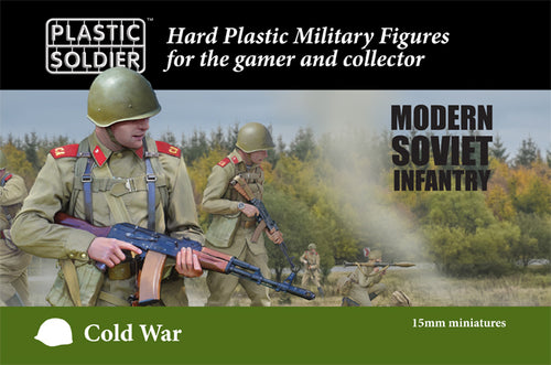 PSC 15mm Modern Cold War Soviet Infantry