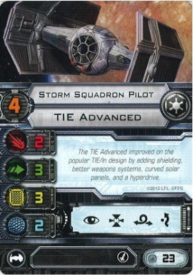 Storm Squadron Pilot (TIE Advanced)