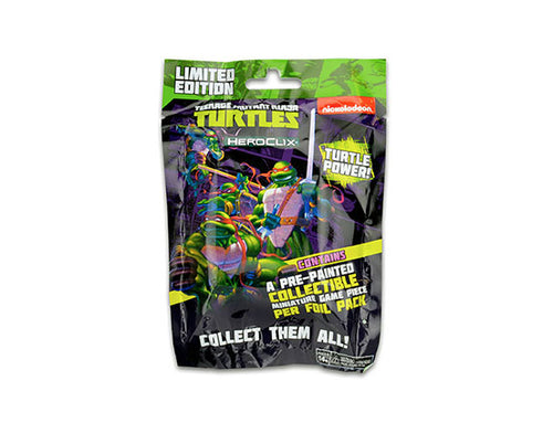 TMNT HEROCLIX: UNPLUGGED GRAVITY FEED