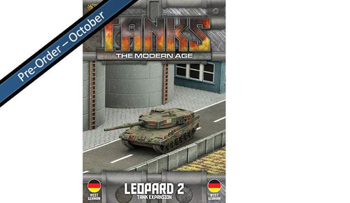 West German Leopard 2 Tank Expansion