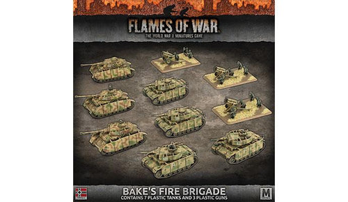 'Bake's Fire Brigade' Army Deal (Plastic)