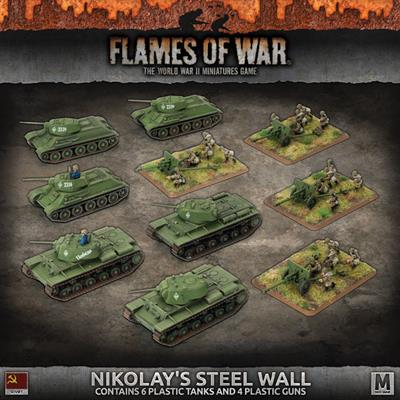 'Nikolay's Steel Wall' Army Deal (Plastic)
