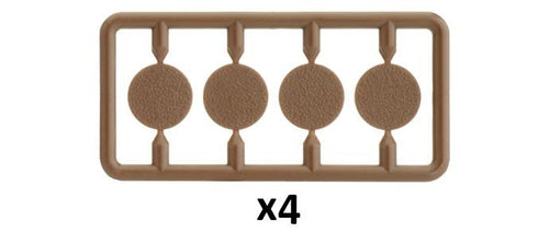 Plastic Base Plugs Sprue (x4)