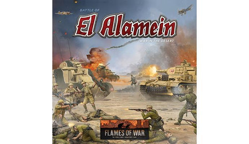Battle of El Alamein: War in the Desert (Plastic)