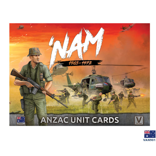 Unit Cards – ANZAC Forces in Vietnam