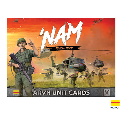 Unit Cards – ARVN Forces in Vietnam