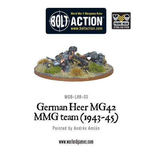 German Heer MG42 HMG Team (1943-45)