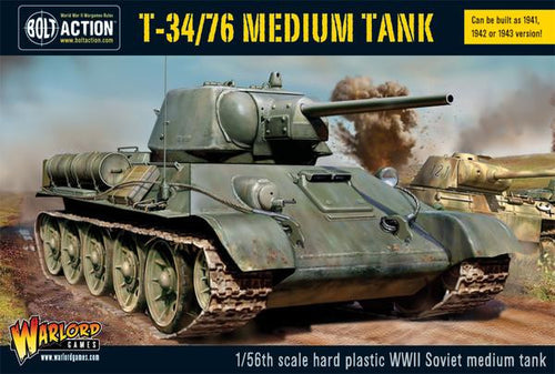 T34/76 medium tank (plastic)