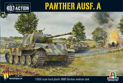 Panther Ausf A plastic box set