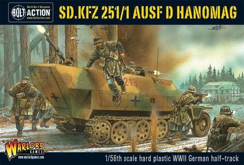 Sd.Kfz 251/1 ausf D halftrack plastic box set