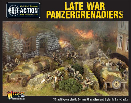 Late War Panzergrenadiers (30 plus 3 hanomags)