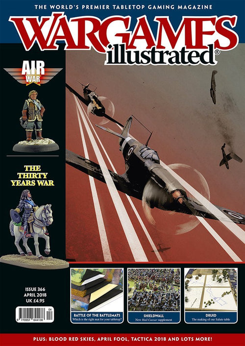 Wargames Illustrated Issue 366 April Edition 2018