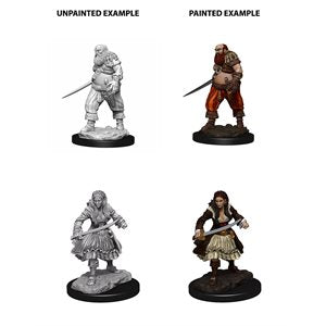 WizKids Deep Cuts Unpainted Miniatures: Wave 4: Pirates