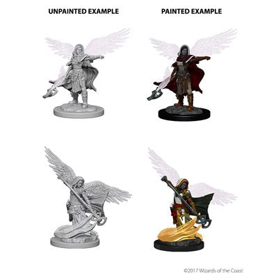 D&D Nolzur's Marvelous Unpainted Miniatures: Wave 4: Aasimar Female Wizard